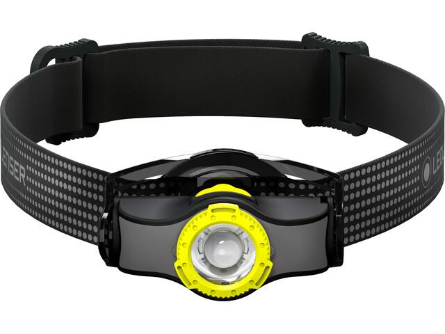 Led Lenser MH3 Lampe frontale, black/yellow